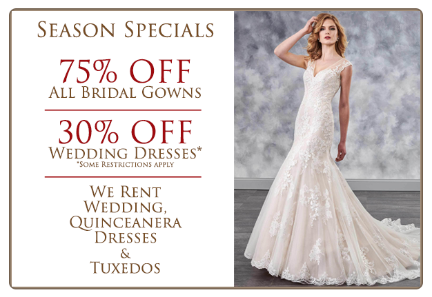Diana\'s Bridal Exclusive Designs on Tampa Bay | Bridal Boutique and ...